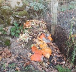 Compost de déchets verts